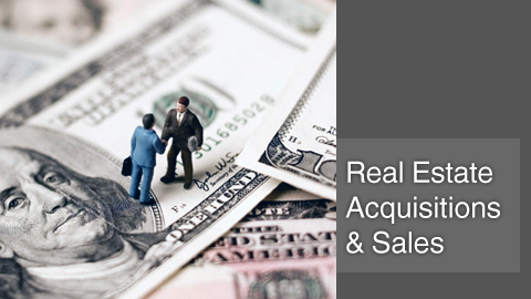 Real estate acquisitions