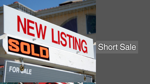 Short sale listings