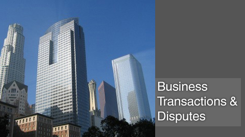 Business disputes